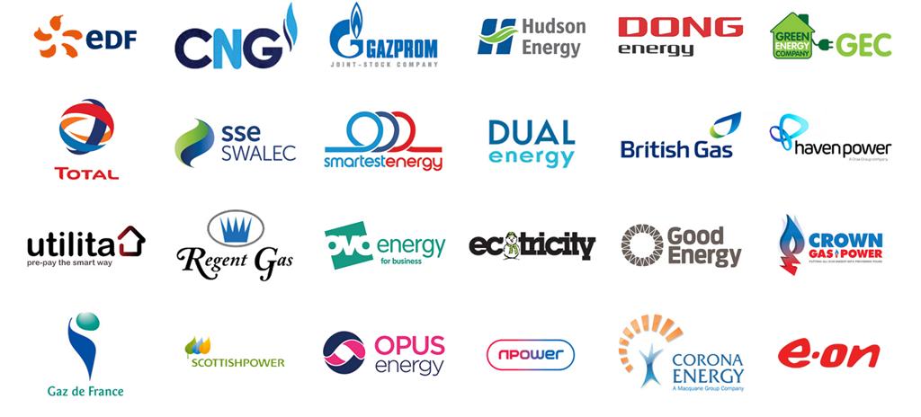 energy supplier logos